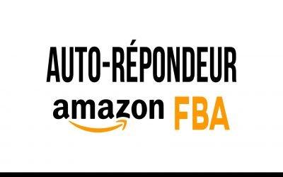 Autorépondeur pour Amazon FBA